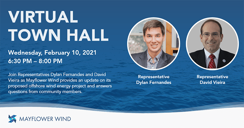 Virtual Town Hall with Representatives Dylan Fernandes and David Vieira