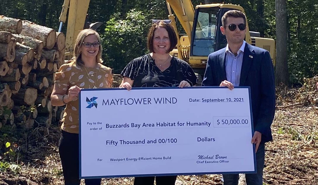 Support for Buzzards Bay area Habitat for Humanity