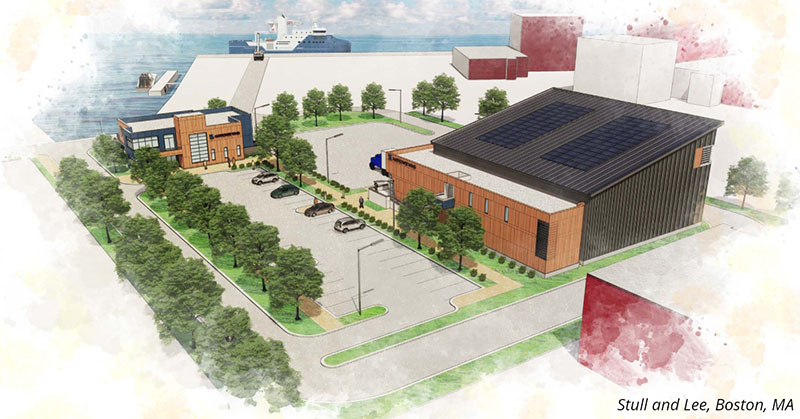 O&M port rendering by Stull and Lee
